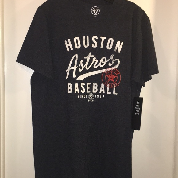 new concept 69be2 cf49f '47 Brand Men's Houston Astros T-Shirt NWT